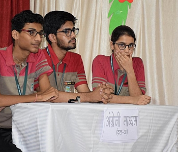 Hindi Debate Competition 14-09-2019